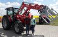 Kolejny MF 5710 Dyna-4 znalazł nowych właścicieli w gminie Skoki.