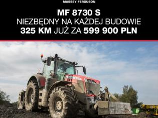 MF 8730 S – niezbędny na każdej budowie